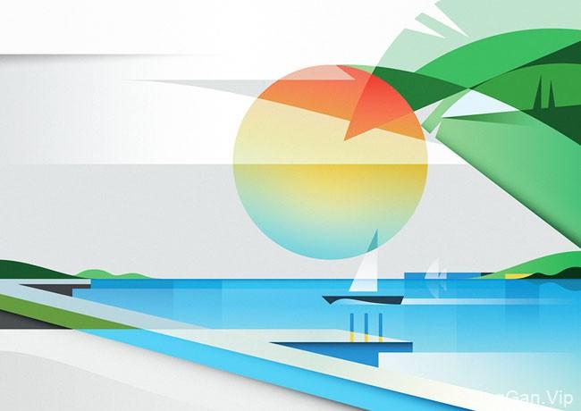 意大利Ray Oranges简美的装饰插画设计