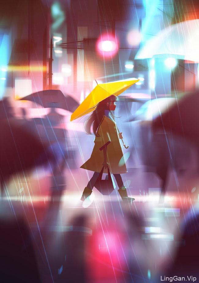 美国Jenny Yu插画设计