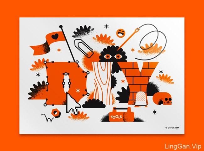 意大利Marco Goran插图设计