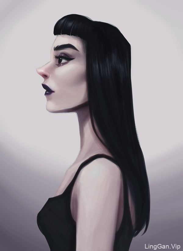意大利Sharon Muraca风格人物插画