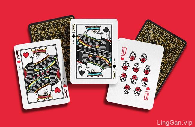 Despicable Me扑克牌插图设计
