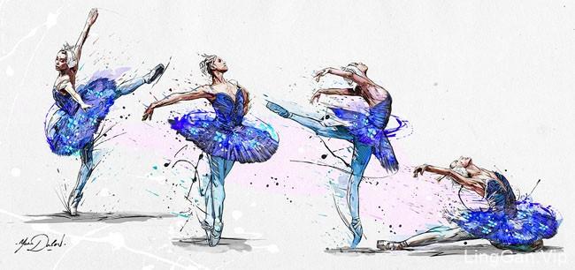 法国Yann Dalon人物插画作品