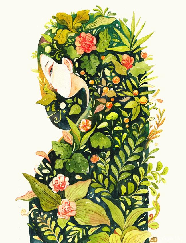 越南Killien Huynh漂亮的插画设计