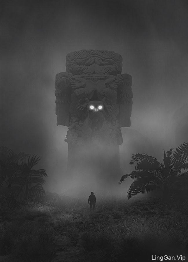 Dawid Planeta概念暗黑插画设计