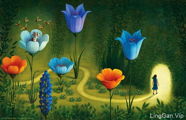 意大利Paolo Domeniconi儿童书籍插图设计