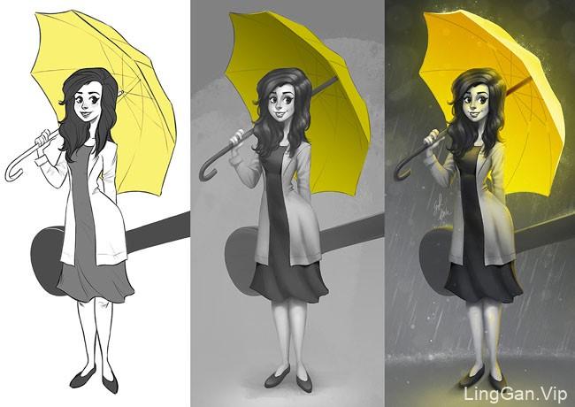 Limetown工作室插画设计作品NO.4