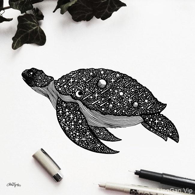 希腊Meni 2017手绘概念插画设计