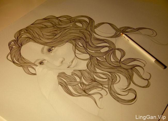 西班牙Mercedes deBellard插画设计