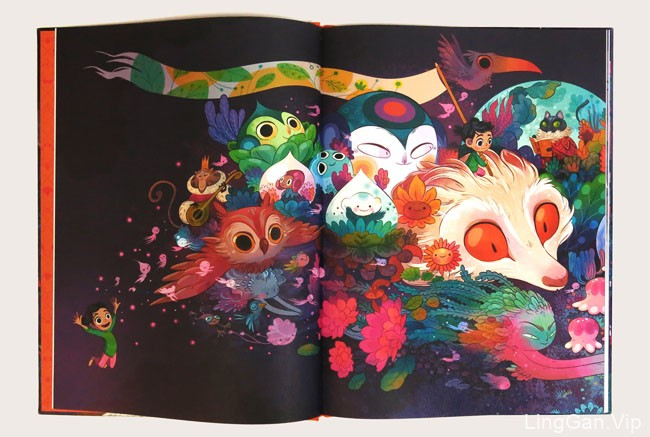Nightlights书籍插画设计