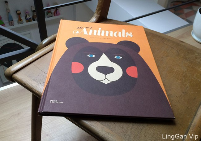 All My Animals书籍动物插图设计