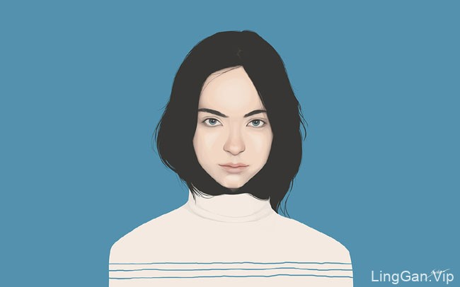 印尼Yuschav Arly人物插画设计作品NO.2
