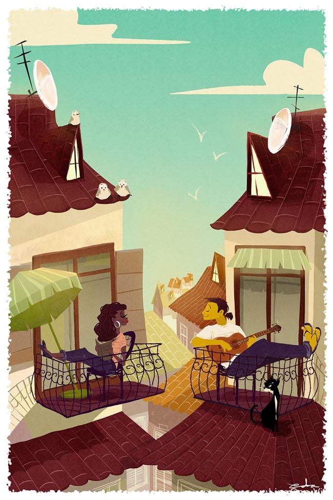 美国Eda Kaban插画设计