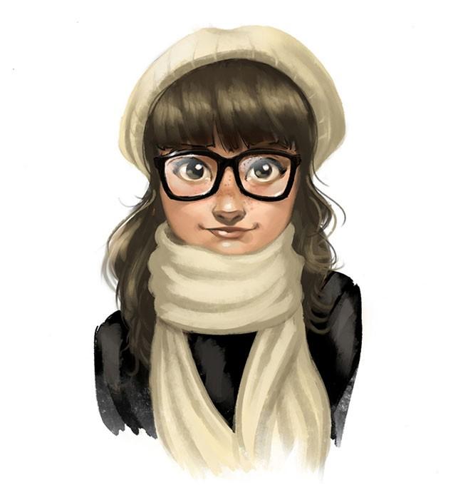 Limetown工作室人物插画设计作品NO.3