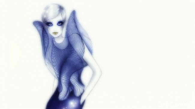 意大利Sabrina Garrasi女性人物插画设计作品