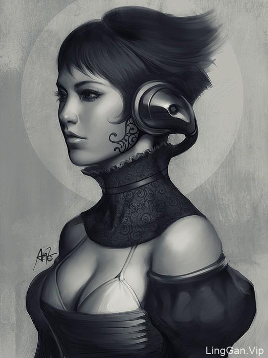 香港Stanley Lau漂亮的女性人物插画作品选刊