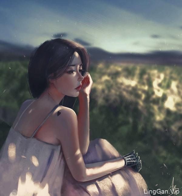 trungbui42美女人物插画设计作品NO.2