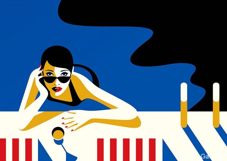 法国Malika Favre插画设计作品