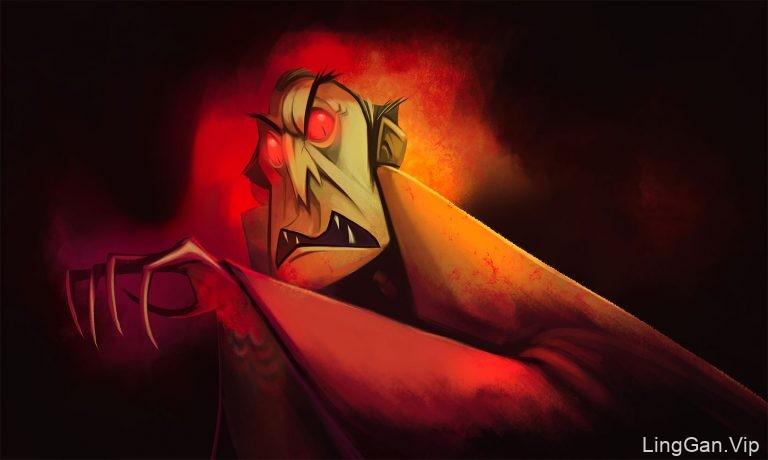 Ronald Reyes角色人物插画设计作品
