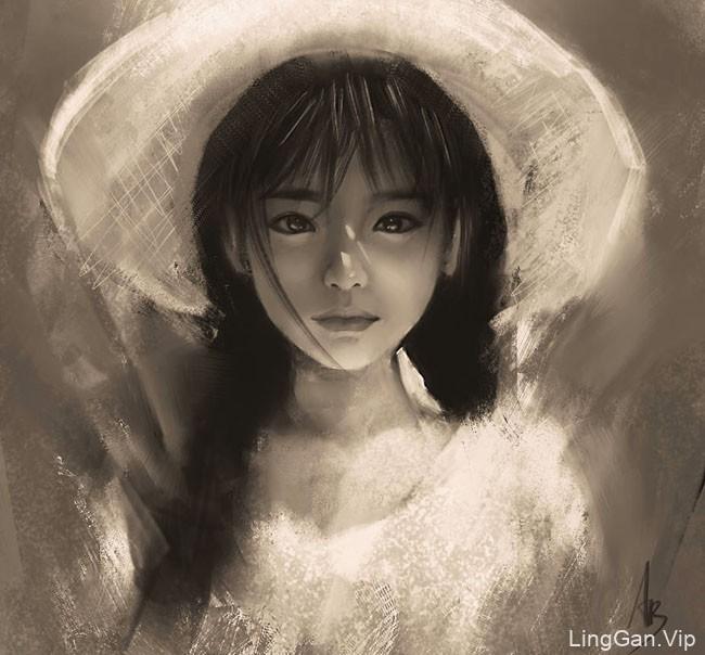越南trungbui42美女插画设计作品NO.3
