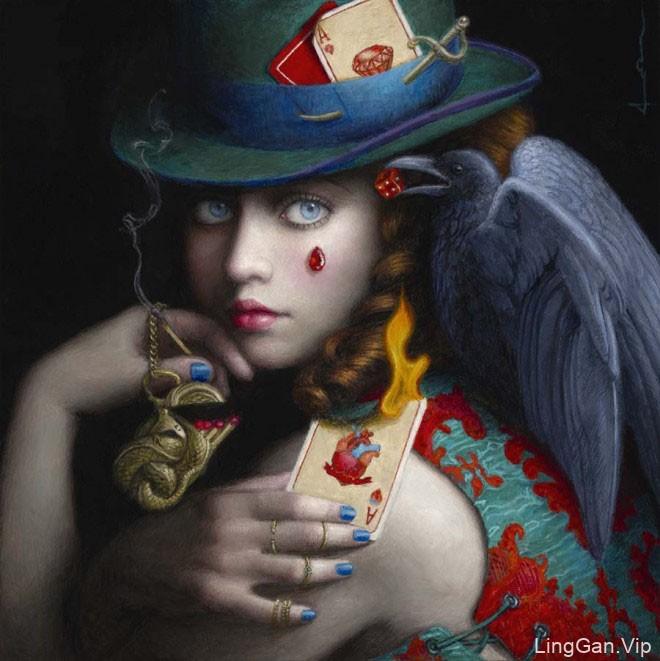 Chie Yoshii超现实主义艺术绘画作品