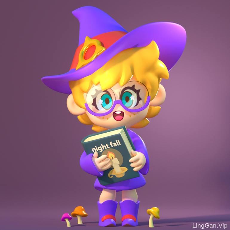 我是主角!10款3D卡通玩具设计