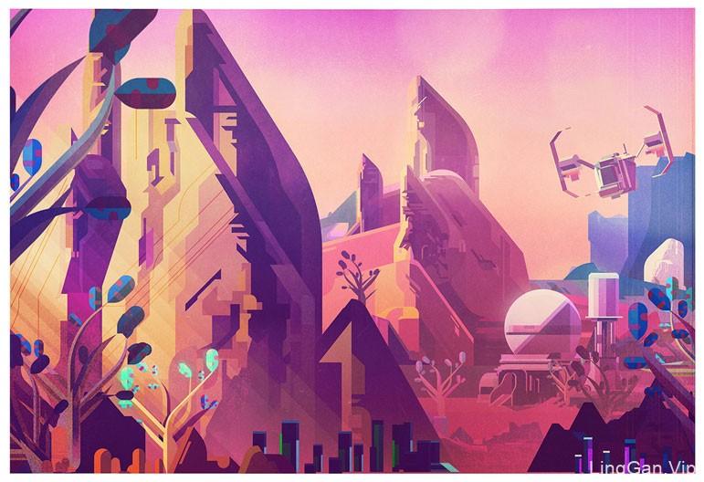 遇见艺术!12款数码插画灵感
