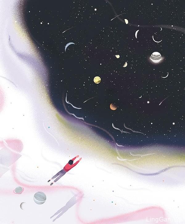 画里的故事!12款水彩插画灵感
