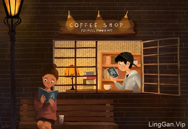 童年里的故事!一组绘本插画灵感