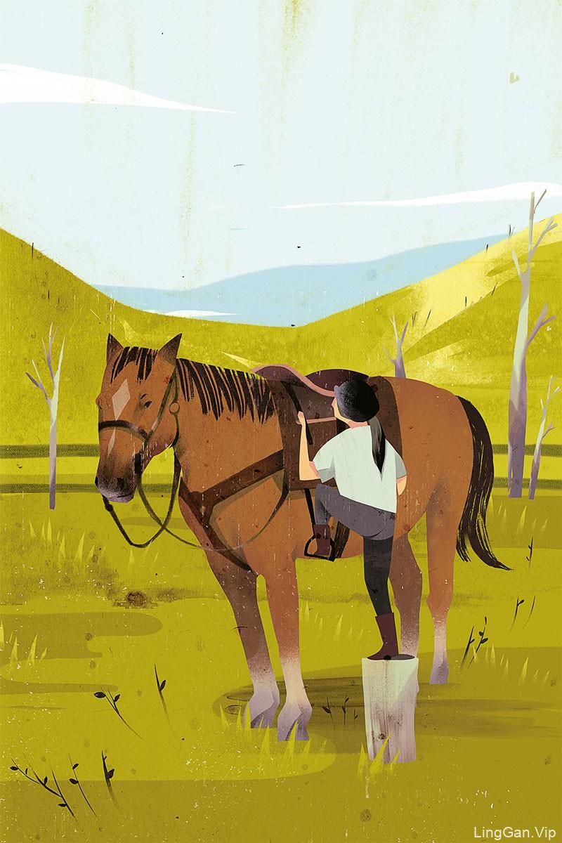 12款超具质感的扁平插画灵感