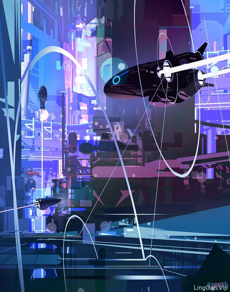 奇幻冒险!10款超酷的概念插画