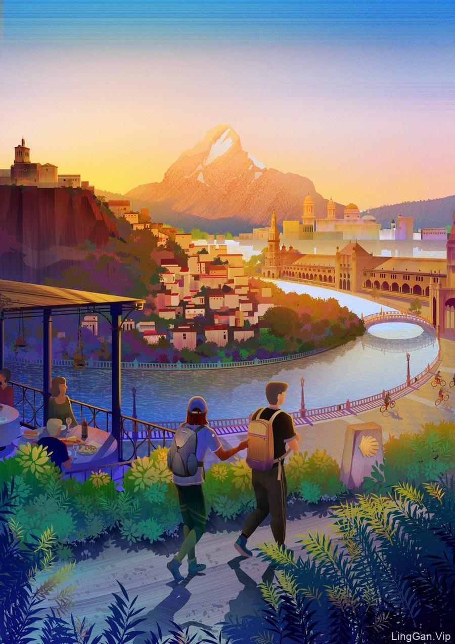 10款旅行冒险题材插图画灵感