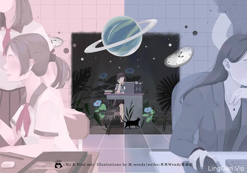 清新独特有创意!9款插画设计