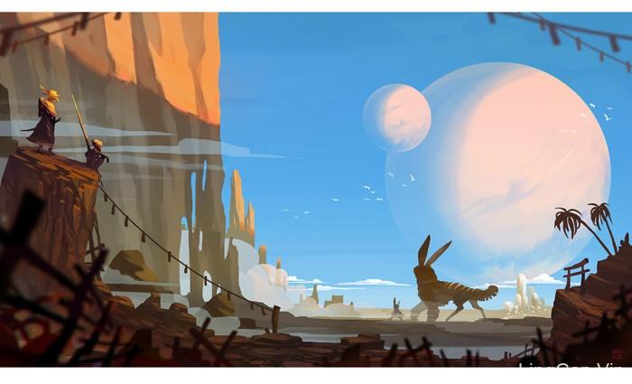 奇思妙想!20款景观概念插画