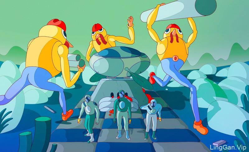 20款引人夺目的科幻插图