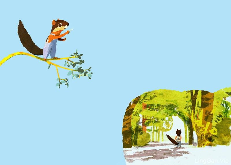 治愈人心!12款儿童读物插画