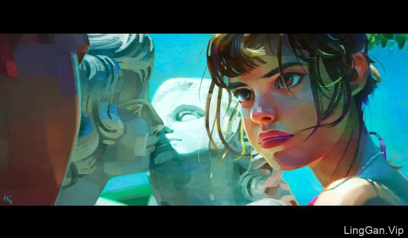 破次元壁!12款配色和光影俱佳的质感插画