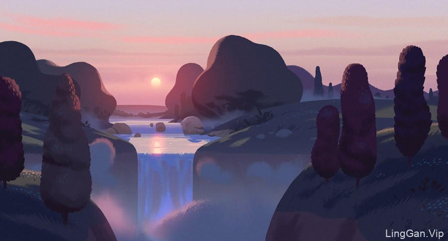 精致优美!12款概念景观插画