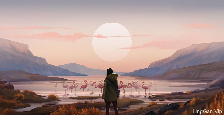 12款电影一般的场景插图