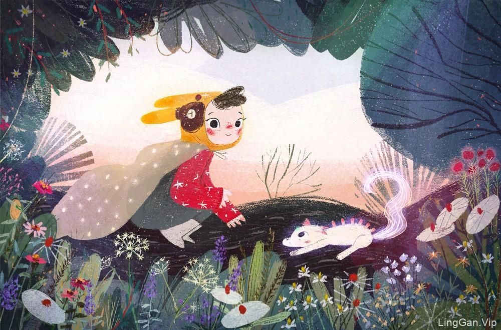 童年时代!14款儿童插画