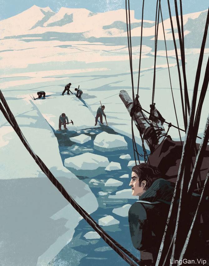 冒险始于就寝时间!非小说类图画书的插图