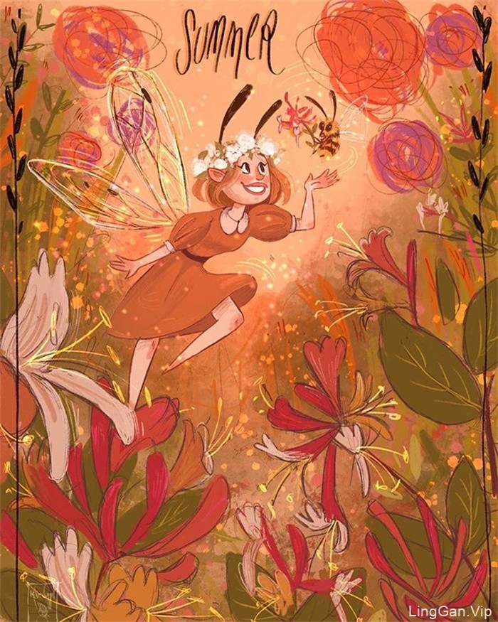 画中故事!16款儿童绘本插图