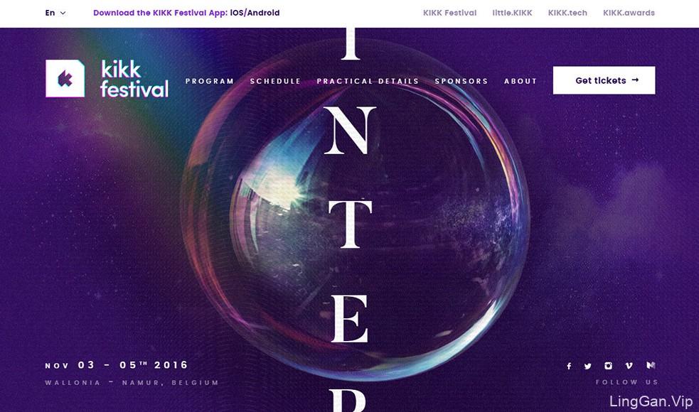 推荐一组优秀的紫色系网站