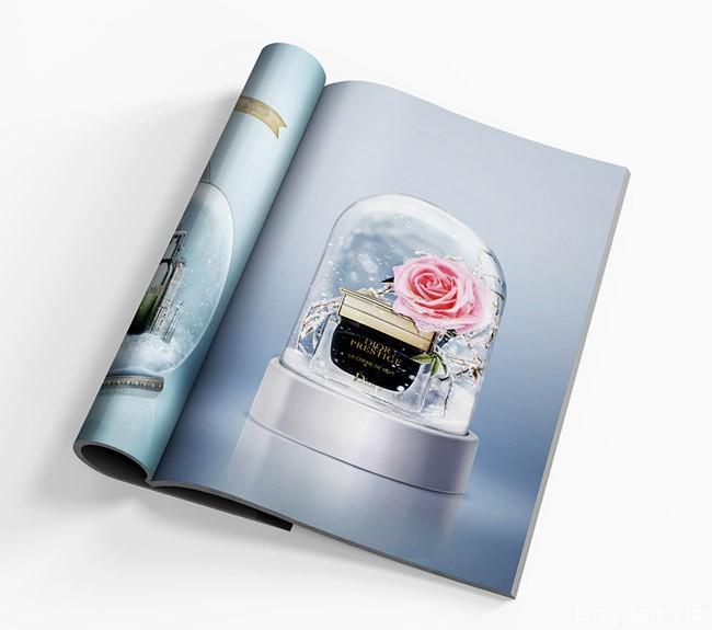国外NadegdaMihailova中国版ROUGE杂志设计