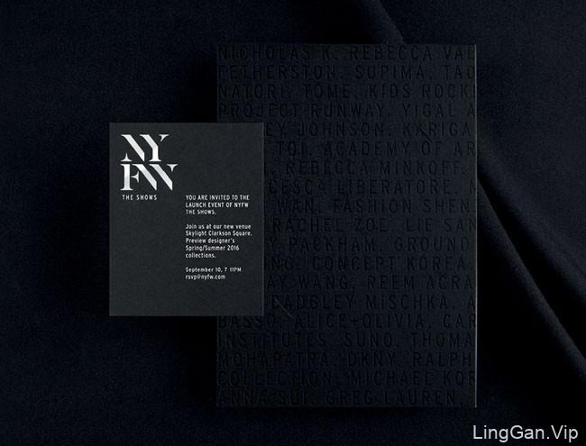纽约时装周时尚精品风格品牌设计鉴赏
