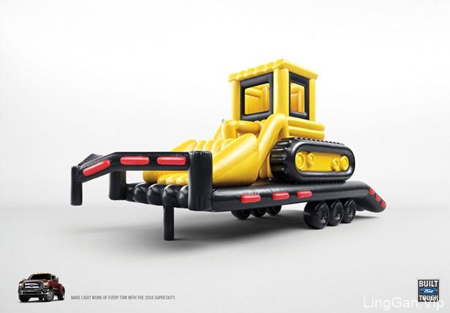 国外Built Ford Tough强悍福特卡车系列创意设计