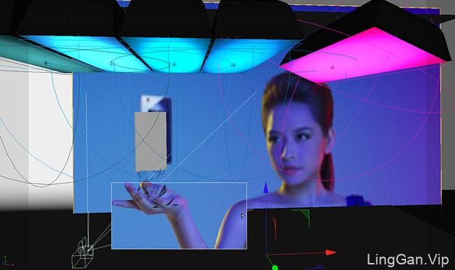 OPPO M5手机精彩蓝色创意合成设计欣赏