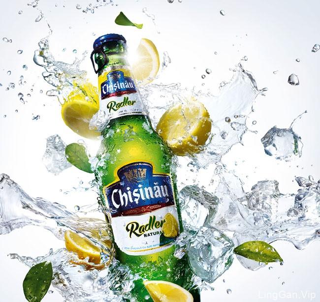 罗马尼亚Ciprian啤酒品牌修图创意设计