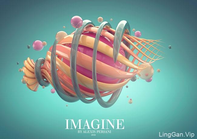 国外Imagine系列抽象艺术视觉创意设计