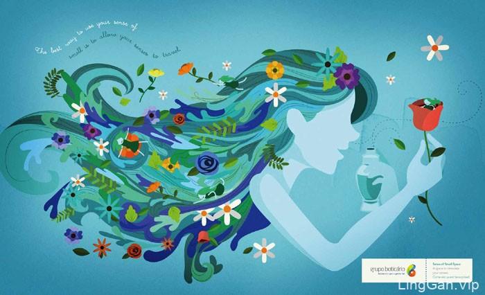 精选4张优美的巴西GrupoBoticario平面广告设计图