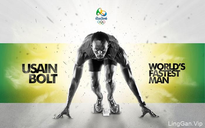 巴西设计师Jose Augusto里约奥运会视觉设计